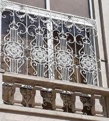 حفاظ پنجره ساختمان فلزی